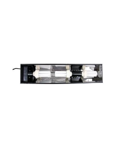 TRIXIE Luminator aluminu cu 3 becuri compact 50 W