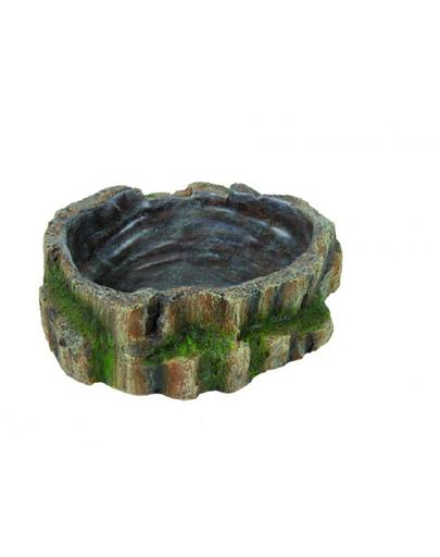 TRIXIE Bol de apă și mâncare pentru reptile 18.5 x 4.5 x 17 cm