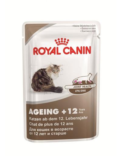 Royal Canin Ageing 12+ hrana umeda pisica senior, 85 g imagine