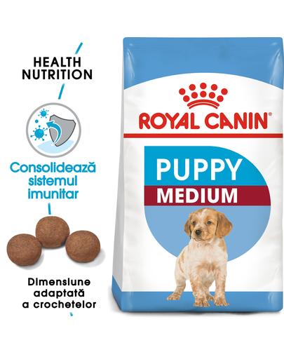 Royal Canin Medium Puppy Hrană Uscată Câine 15 + 3 kg