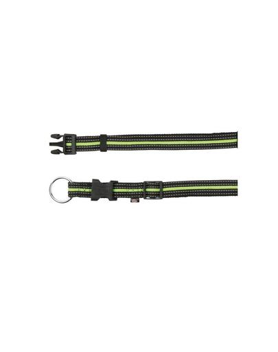 TRIXIE Zgardă S - M 30–45 cm / 17 mm negru / verde imagine