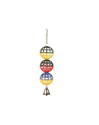 TRIXIE 3 mingi cu clopoțel 4.5 cm imagine