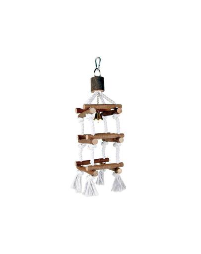 TRIXIE Jucărie din lemn pentru păsări 34 cm