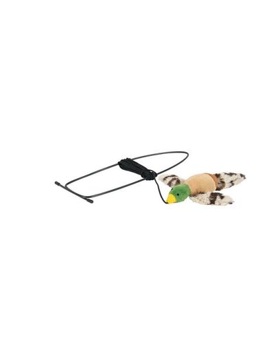 TRIXIE Jucărie pasăre zburătoare cu montare pe tocul ușii - verde