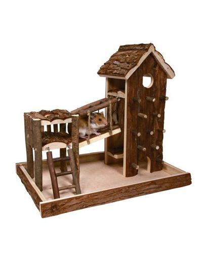 TRIXIE Loc de joacă pentru hamster 36 x 33 x 26 imagine