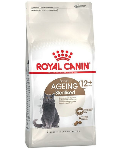ROYAL CANIN Senior Ageing Sterilised 12+ 4kg