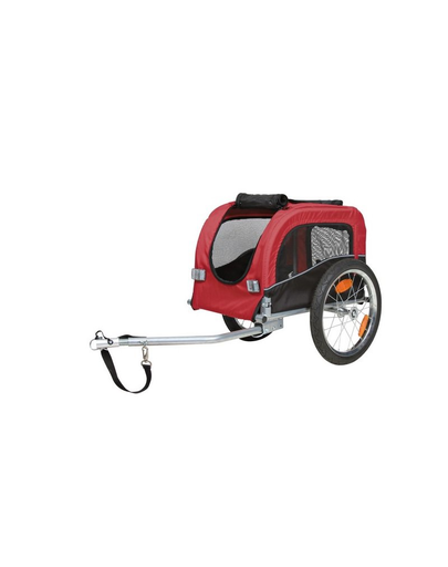 TRIXIE Remorcă pentru biciclete 38 x 37 x 58 cm roșu-negru imagine