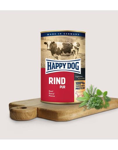 HAPPY DOG Pur Rind cu vită 800 g