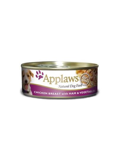 APPLAWS Chicken, Ham & Vegetables 156g imagine
