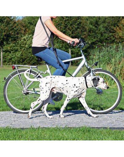 TRIXIE Lesă pentru bicicletă și jogging