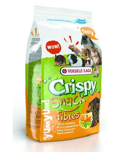 Versele-laga Crispy Snack Fibres 650 G - Amestec Complementar Cu Continut Ridicat De Fibre