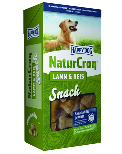 HAPPY DOG Natur Snack miel și orez 350 g