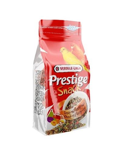 Versele Laga Prestige Snack Canaries 125 G Gustare Cu Biscuiti Si Fructe Pentru Canari