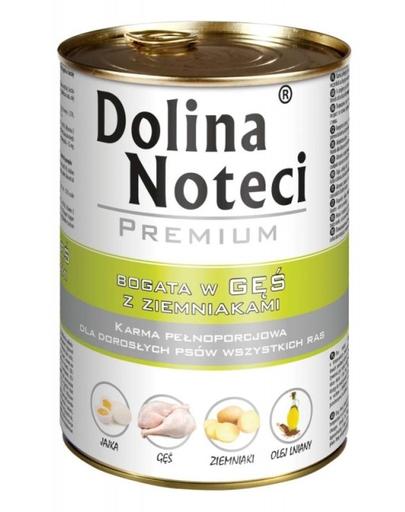 DOLINA NOTECI Premium bogat în gâscă cu cartofi 400 g