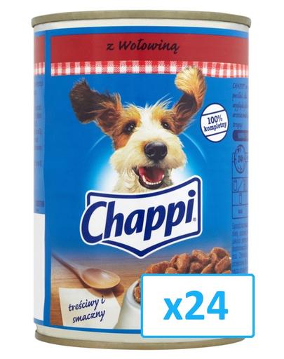 CHAPPI vită 400 g x24