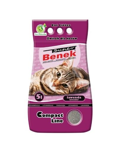 Benek Super Compact Lavanda 5 L