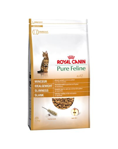 ROYAL CANIN Pure Feline n.02 (slim silhouette) 1.5 kg