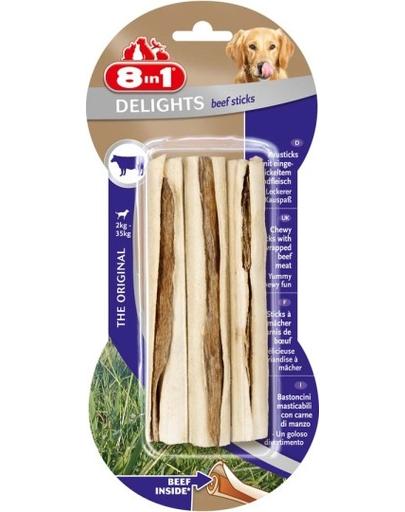 8IN1 Delight Sticks cu vită 3 buc. imagine