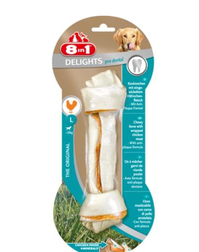 8IN1 Gustare Dental Delights Bone L 1 buc. imagine