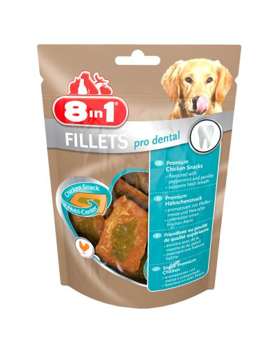 8IN1 Gustări Fillets Pro Breath 80g