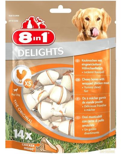 8IN1 Recompensă Delights Bones XS 14 buc. imagine