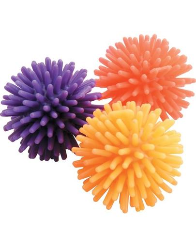 ZOLUX Jucării pentru pisici 3 mingiuțe steluțe 4 cm imagine