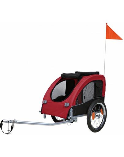 TRIXIE Remorcă bicicletă 45×48×74 cm negru și roșu imagine