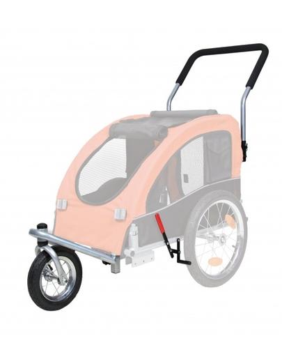TRIXIE Kit conversie cărucior acoperit cu roți pentru jogging sau bicicletă 12814 imagine