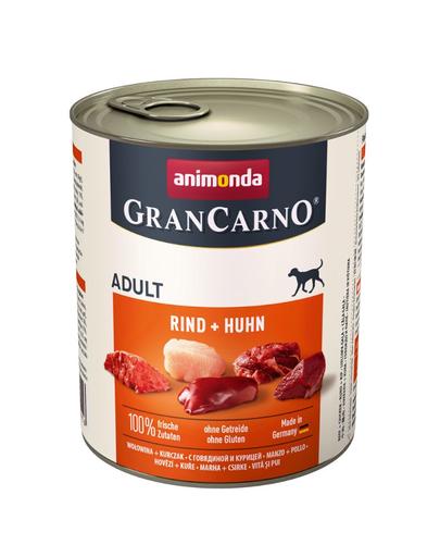 ANIMONDA Grancarno Adult carne de vită și pui 800 gr imagine