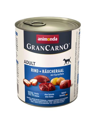 ANIMONDA Grancarno Adult vită, angușă afumată și cartofi 800 gr imagine