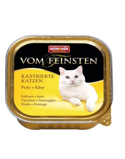 ANIMONDA Vom Feinsten cu curcan și brânză 100 gr imagine