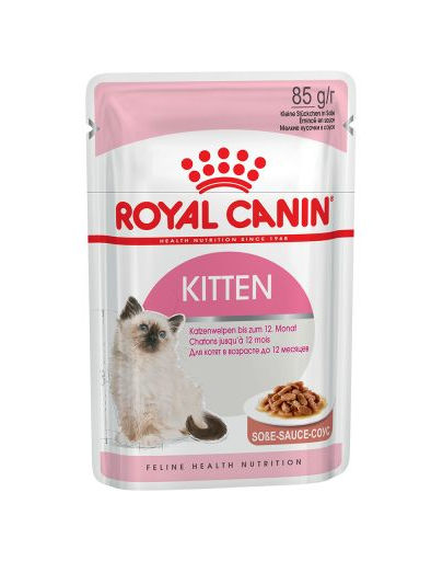 Royal Canin Kitten Instinctive In Gravy Hrană Umedă Pisică 85 g