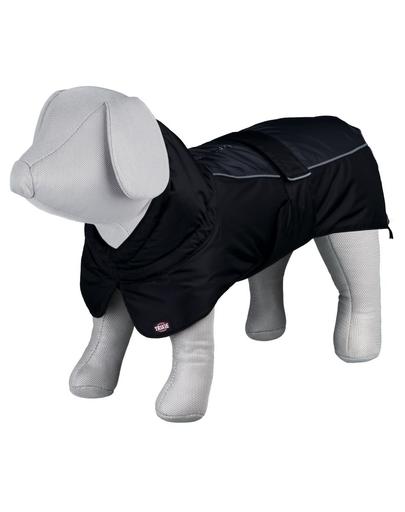 TRIXIE Haină impermeabilă pentru câini Prime, L: 62 cm, negru/gri imagine