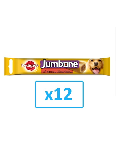 PEDIGREE Jumbone Medium recompensă talie medie 200 g x12