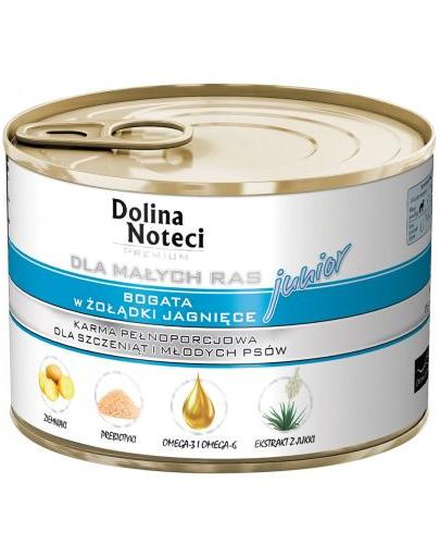 DOLINA NOTECI Premium Junior talie mică burtă miel 185 g