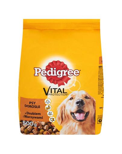 PEDIGREE Vital Protection Adult Carne de pasăre și legume 500 g