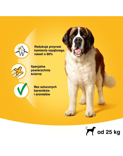 PEDIGREE Dentastix talie mare 4 x 270 g