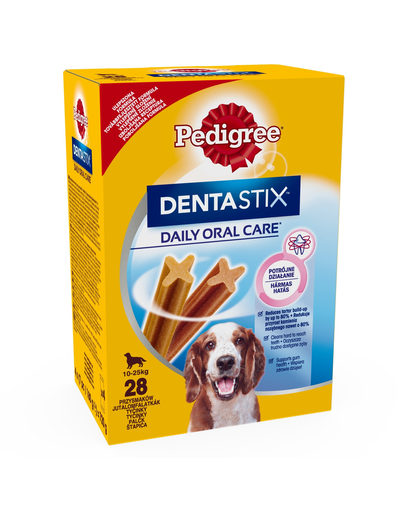 PEDIGREE Dentastix talie medie 4x180 g