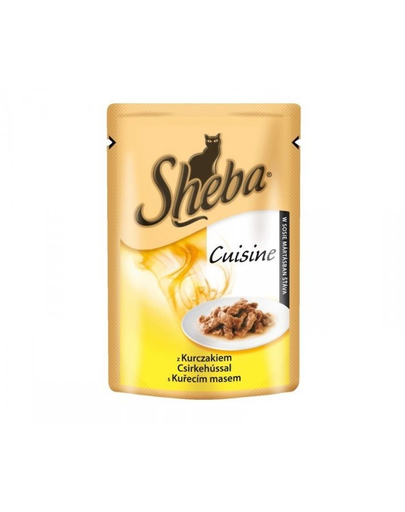 SHEBA Selection in Sauce cu pui 85 g imagine