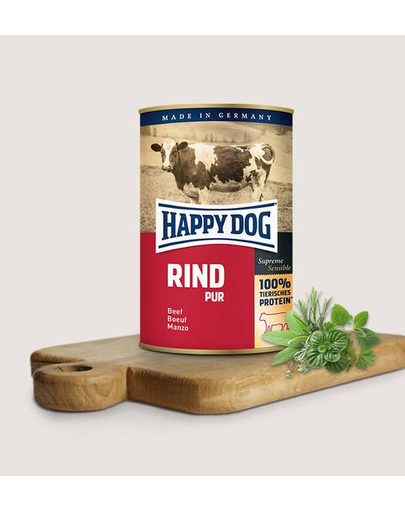 Happy Dog Rind Pur 400 G