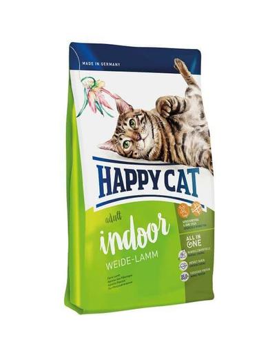 HAPPY CAT Fit & Well Indoor Adult miel 1,4 kg imagine