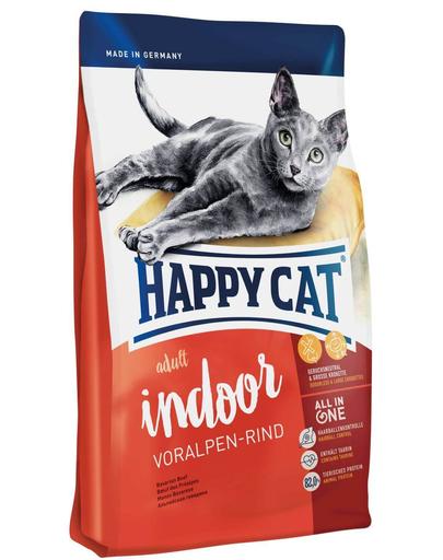 HAPPY CAT Fit & Well Indoor Adult vită 1,4 kg imagine