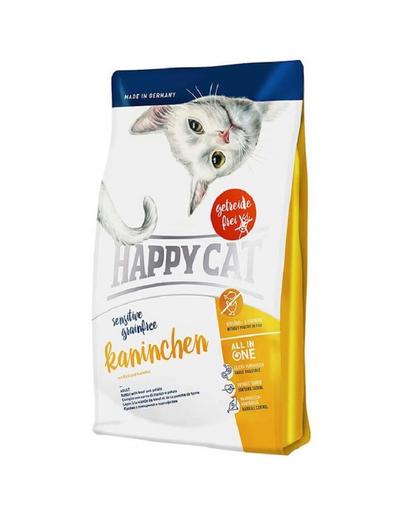 HAPPY CAT Sensitive Grainfree iepure 1,4 kg imagine