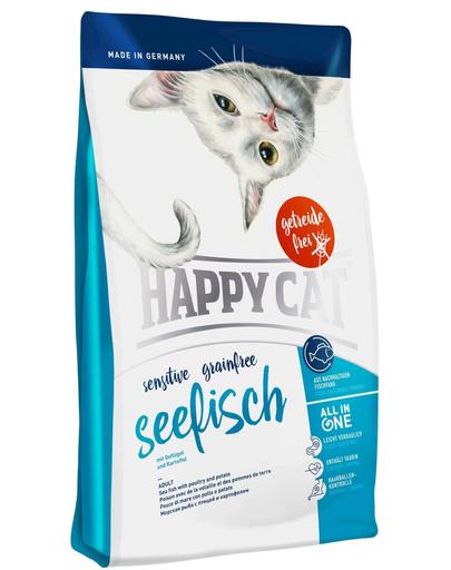 HAPPY CAT Sensitive Grainfree pește sea 4 kg imagine