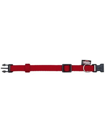 TRIXIE Zgardă Premium S-M 25–40 cm/15 mm, roșu imagine