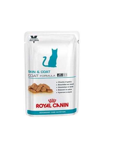 ROYAL CANIN Cat Skin & Coat 12 x 100 g