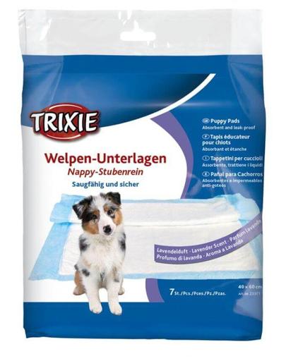 TRIXIE Covoraș absorbant pentru câini lavandă 40 × 60 cm, 7 buc. imagine