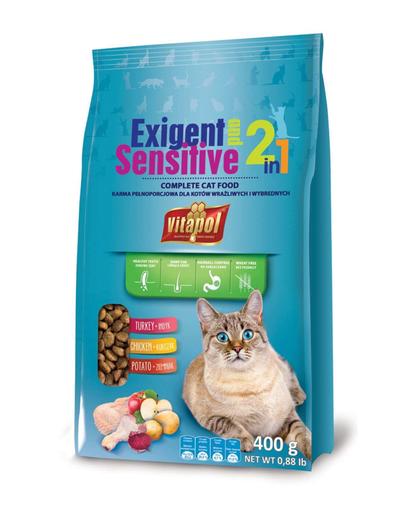 VITAPOL Hrană pentru pisici mofturoase 400 g imagine