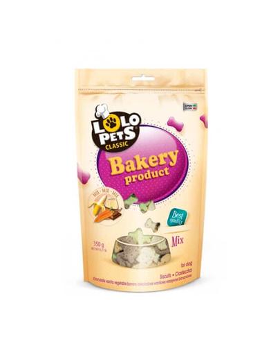 LOLO PETS Cookies pentru câini mini mix 350 g