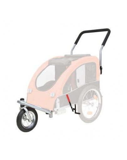 TRIXIE Kit conversie cărucior acoperit cu roți pentru jogging sau bicicletă 12816 imagine